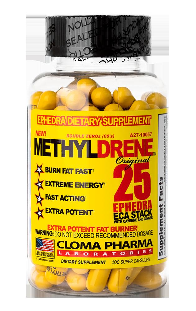 Clomapharma Methyldrene 25 Arzător de grăsimi 100 capace